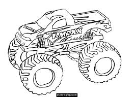 Printable Coloring Pages Trucks Truck Printable Coloring Page