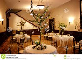 Table Setting At A Luxury Wedding Reception Royalty Free Stock