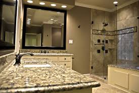 Tranquil Bathroom Functional Sleek And Tranquil Bath Lone Star Remodeling And