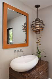 powder room lighting. Paper Pendant Light Powder Room Contemporary With Framed Square Lighting S