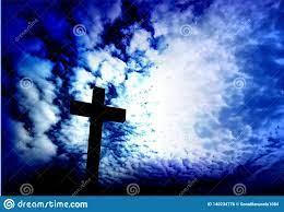 Jesus Christ Cross. Background ...