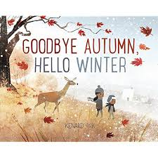 goodbye fall and hello winter saying