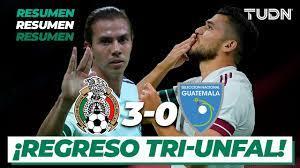 Mexico vs Guatemala 2020: Goals and ...