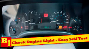 Jeep Cherokee 2016 Check Engine Light Check Engine Light Easy Self Diagnosis