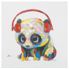 yosemite home decor 24 in h x 24 in w panda beats