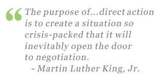 Civil Rights Leaders Chart Martin Luther King Jr Fighting For Equal Rights In America