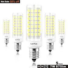 E12 Led Bulb Chanderlier Candel 6w 5watt 4w 110 Volt Daylight White 6000k 7w