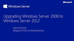 Upgrading From Windows Server 2008 2008 R2 To Windows
