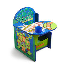Ninja Turtle Bedroom Nickelodeon Teenage Mutant Ninja Turtles Chair Desk With Storage