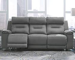Fuschia Large Trampton Power Reclining Sofa Rollover Home Furniture Sofas Couches Ashley Furniture Homestore