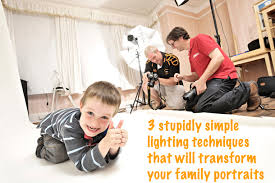 home lighting techniques. Lighting Techniques For Shooting Family Portraits Home