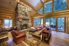 Interior Design Log Homes Impressive Inspiration