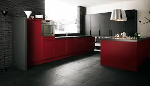 Elegant Red Kitchen Design Ideas By Minimalist Black And White Kitchen  Cabinet Interior Design Stainless Steel