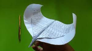 Rawat lipatan anda di awal, dan sisanya harus cukup mudah jika anda mengikuti tutorial dengan tepat. Cara Membuat Origami Pesawat Elang Raja Origami Pesawat Youtube