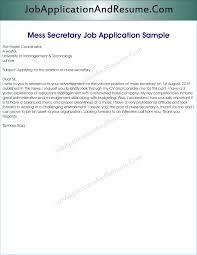 job application for mess secretary jaar head hunters job application for mess secretary in office school hostel college university