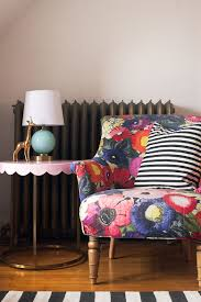 colorful chair striped pillow and pink target pillowfort scalloped side table making it