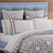 grey and blue duvet covers sweetgalas throughout pattern in cover ideas 22