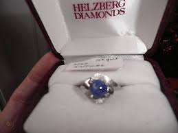 vintage 1950 s blue linde star sapphire