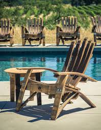 wine barrel outdoor furniture. Single-chair Wine Barrel Outdoor Furniture T