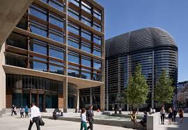 google company head office. Bloomberg Chose Not To Build The Maximum Allowable Square Footage, Instead Providing Civic Space In Heart Of City. Google Company Head Office R