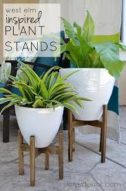 wooden plant stand plans build an easy inexpensive wood planter box rainbow beach org