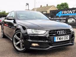 black audi 2014.  2014 2014 AUDI A4 20 TDI QUATTRO S LINE BLACK EDITION AUTOMATIC 4DR SALOON  DIESEL SA With Black Audi