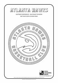 Cool Coloring Pages Nba Basketball Clubs