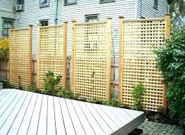 privacy fence design. Smart Lattice Privacy Fence Privacy Fence Design
