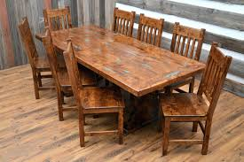 captivating handmade wood dining table in ening handmade wood tables decor handmade reclaimed wood