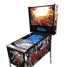 marvel avengers full size virtual pinball machine