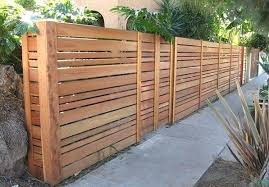 horizontal wood slat fence.  Horizontal Wood Slat Fence Horizontal Modern  Wooden Throughout R