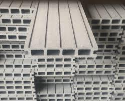 6m x 3m diy composite wood decking board kit grey