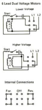 dual voltage motor wiring schematic wiring library dual voltage motor wiring diagram at Dual Voltage Motor Wiring Diagrams
