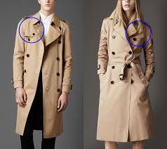 Women wearing vintage raincoat