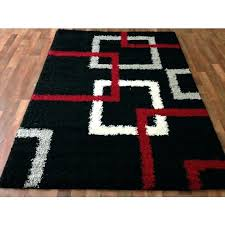 gray area rug amazing kitchen rugs home decors collection for red black and 5x7