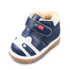 gz winter boys girls warm cotton shoes infant toddler shoes girls warm leather shoes cow