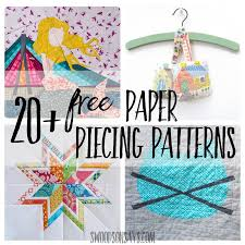 Paper Piecing Patterns Gorgeous Free Paper Piecing Patterns To Download And Sew