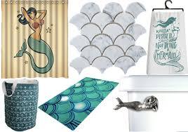 Mermaid Bathroom Decor Little Mermaid Themed Bathroom