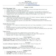 professional skills list office skills list resume professional skills list resume sample and