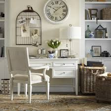neutral home office ideas. Neutral Home Decor Decorating / Design Ideas - White, Beige, Cream. Bird Cage Office