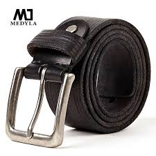 medyla 100 full grain leather belt jeans men belt good quality male strap wedding groomsmen gift can be used for 10 years tool belts tactical belt from