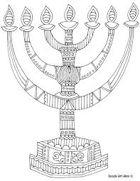 Chanukah Story Coloring Pages At Getdrawingscom Free For Personal