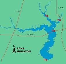 Fishing Lake Houston