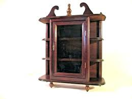antique cabinets with glass doors antique corner curio cabinet corner curio cabinet with glass doors small