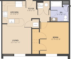affordable 1 bedroom apartments in dc. one bedroom, bathroom floorplan affordable 1 bedroom apartments in dc -