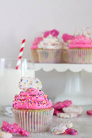 Circus Animal Cookie Cupcakes Recipe Dash Of Grace
