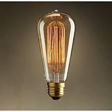 edison style lighting fixtures. vintage edison 40w 110v e26 base squirrel cage filament incandescent light bulb white pack style lighting fixtures