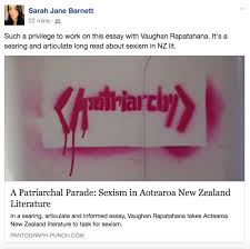 vaughan rapatahana challenges sexism in nz literature  vaughan rapatahana challenges sexism in nz literature pantographpunch