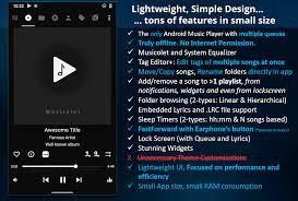 Musicolet Müzik Çalar [ücretsiz, Reklamsız] 5.1.1 build282 Android APK'sını  indir