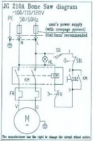 electrical diagram for band saw band saw electrical diagram